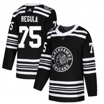 Alec Regula Chicago Blackhawks Adidas Youth Authentic 2019 Winter Classic Jersey - Black