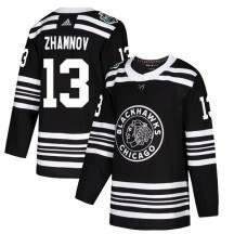 Alex Zhamnov Chicago Blackhawks Adidas Youth Authentic 2019 Winter Classic Jersey - Black