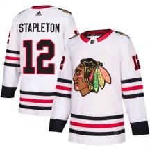 Pat Stapleton Chicago Blackhawks Adidas Men's Authentic Away Jersey - White