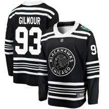Doug Gilmour Chicago Blackhawks Fanatics Branded Youth 2019 Winter Classic Breakaway Jersey - Black