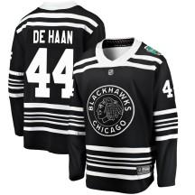 Calvin de Haan Chicago Blackhawks Fanatics Branded Youth 2019 Winter Classic Breakaway Jersey - Black