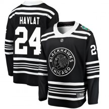 Martin Havlat Chicago Blackhawks Fanatics Branded Youth 2019 Winter Classic Breakaway Jersey - Black