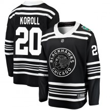 Cliff Koroll Chicago Blackhawks Fanatics Branded Youth 2019 Winter Classic Breakaway Jersey - Black