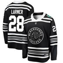 Steve Larmer Chicago Blackhawks Fanatics Branded Youth 2019 Winter Classic Breakaway Jersey - Black
