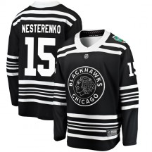 Eric Nesterenko Chicago Blackhawks Fanatics Branded Youth 2019 Winter Classic Breakaway Jersey - Black