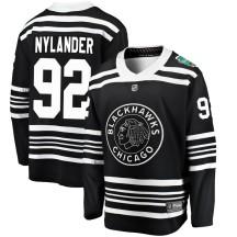Alexander Nylander Chicago Blackhawks Fanatics Branded Youth 2019 Winter Classic Breakaway Jersey - Black