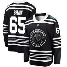 Andrew Shaw Chicago Blackhawks Fanatics Branded Youth 2019 Winter Classic Breakaway Jersey - Black