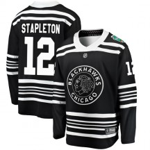 Pat Stapleton Chicago Blackhawks Fanatics Branded Youth 2019 Winter Classic Breakaway Jersey - Black