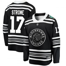 Dylan Strome Chicago Blackhawks Fanatics Branded Youth 2019 Winter Classic Breakaway Jersey - Black