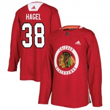 Brandon Hagel Chicago Blackhawks Adidas Men's Authentic Home Practice Jersey - Red