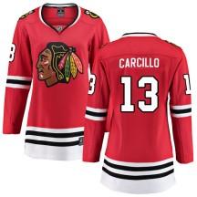 Daniel Carcillo Chicago Blackhawks Fanatics Branded Women's Breakaway Home Jersey - Red