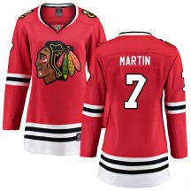 Pit Martin Chicago Blackhawks Fanatics Branded Women's Breakaway Home Jersey - Red