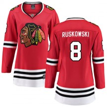 Terry Ruskowski Chicago Blackhawks Fanatics Branded Women's Breakaway Home Jersey - Red