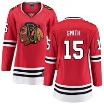 Zack Smith Chicago Blackhawks Fanatics Branded Women's Breakaway Home Jersey - Red