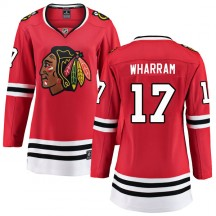 Kenny Wharram Chicago Blackhawks Fanatics Branded Women's Breakaway Home Jersey - Red