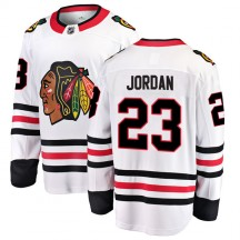 Michael Jordan Chicago Blackhawks Fanatics Branded Youth Breakaway Away Jersey - White