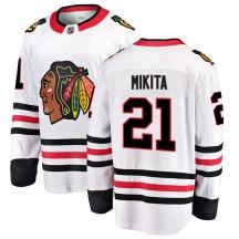 Stan Mikita Chicago Blackhawks Fanatics Branded Youth Breakaway Away Jersey - White