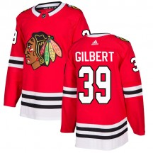 Dennis Gilbert Chicago Blackhawks Adidas Youth Authentic Home Jersey - Red