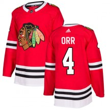 Bobby Orr Chicago Blackhawks Adidas Youth Authentic Home Jersey - Red