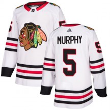 Connor Murphy Chicago Blackhawks Adidas Men's Authentic Jersey - White
