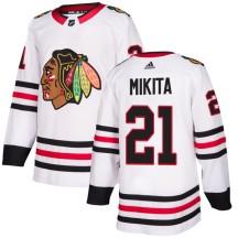 Stan Mikita Chicago Blackhawks Adidas Men's Authentic Jersey - White