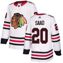 Brandon Saad Chicago Blackhawks Adidas Women's Authentic Away Jersey - White
