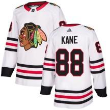 Patrick Kane Chicago Blackhawks Adidas Youth Authentic Away Jersey - White