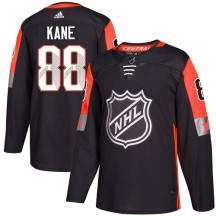 Patrick Kane Chicago Blackhawks Adidas Men's Authentic 2018 All-Star Central Division Jersey - Black